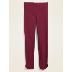 Cut-Out Twist Built-In Tough Leggings for Girls