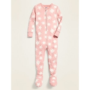 Starfish-Print Footie Pajama One-Piece for Toddler & Baby