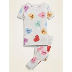 Sweetheart Graphic Pajama Set for Toddler Girls & Baby