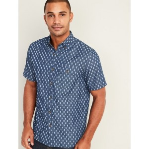 Relaxed Fit Utility Shirt for Men