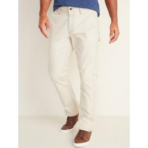 Straight Built-In Flex Carpenter Pants For Men