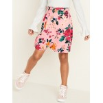 Printed Smocked-Waist Skirt for Girls