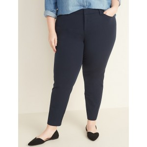 High-Waisted Plus-Size Pixie Pants