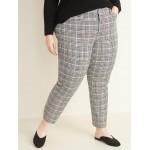 High-Waisted Secret-Slim Pockets Plus-Size Pixie Ankle Pants