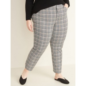High-Waisted Secret-Slim Pockets Plus-Size Pixie Ankle Pants