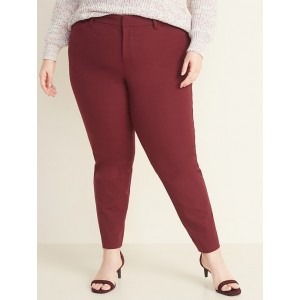 High-Waisted Secret-Slim Pockets Plus-Size Pixie Pants