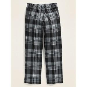 Patterned Micro Performance Fleece Pajama Pants for Boys