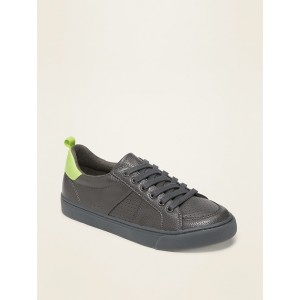 Faux-Leather Sneakers for Boys