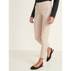 Mid-Rise Pixie Ankle Pants for Women