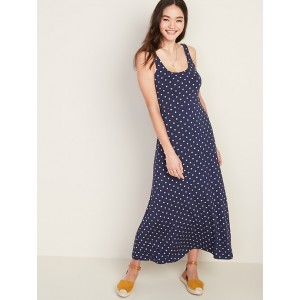 Scoop-Neck Jersey Maxi Dress for Women