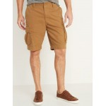 Lived-In Straight Built-In Flex Cargo Shorts for Men  10-inch inseam
