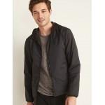 Go-H20 Water-Repellent Hooded Zip Jacket for Men