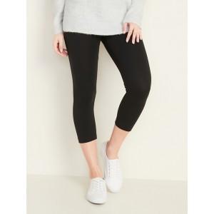 Mid-Rise Cropped Leggings for Women