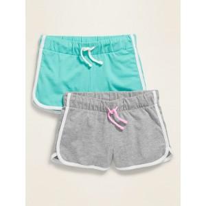Dolphin-Hem Cheer Shorts 2-Pack for Girls