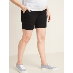 Maternity Full-Panel Everyday Shorts  7-inch inseam