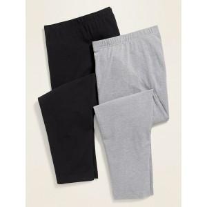 High-Waisted Plus-Size Capri Leggings 2-Pack