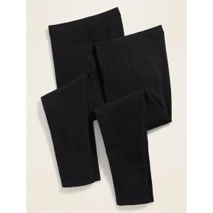High-Waisted Full-Length Plus-Size Leggings 2-Pack