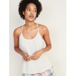 Rib-Knit Sleep Cami for Women