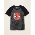Licensed Pop-Culture Visual Effects Graphic Tee for Boys