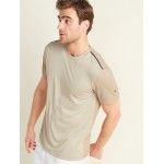 Go-Dry Cool Odor-Control Color-Blocked Core Tee for Men