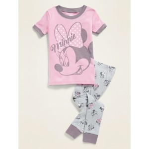 Disney Minnie Mouse Pajama Set for Toddler Girls & Baby