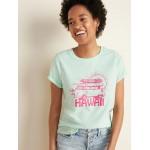Hawaii Graphic Tee for Women