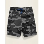 Camo Print Mesh Shorts for Toddler Boys