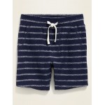 Patterned French Terry Shorts for Toddler Boys
