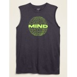 Go-Dry Cool Odor-Control Graphic Core Tank Top for Men