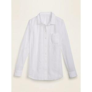 Textured Dobby-Stripe Shirt for Women
