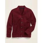 Uniform Sweater-Fleece Cardigan for Boys