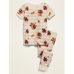 Floral-Print Pajama Set for Toddler Girls & Baby