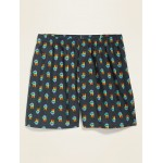 Soft-Washed Printed Boxer Shorts for Men