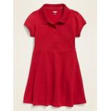 Uniform Polo Dress for Toddler Girls
