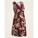 Maternity Waist-Defined Twist-Front Jersey Dress