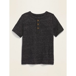 Printed Jersey Henley for Toddler Boys