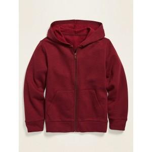 Slub-Knit Zip Hoodie for Boys
