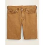 Slim Built-In Flex Pop-Color Jean Shorts for Men  9-inch inseam