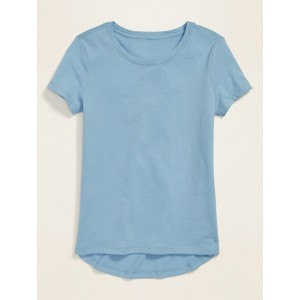 Uniform Scoop-Neck Tee for Girls