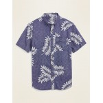 Relaxed-Fit Utility Shirt for Men