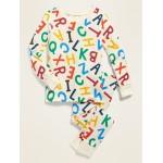 Alphabet Pajama Set for Toddler & Baby