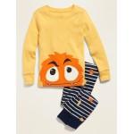 Monster Pajama Set for Toddler Boys & Baby