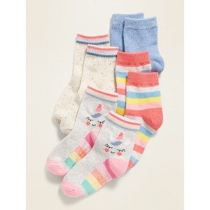 Crew Socks 4-Pack for Toddler Girls & Baby