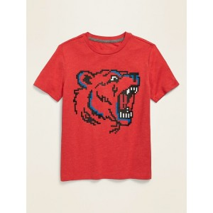 Bear-Graphic T-Shirt for Boys