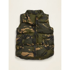 Camo-Print Frost Free Vest for Toddler Boys