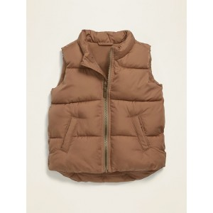 Frost-Free Quilted Puffer Vest for Toddler Boys