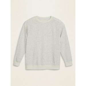 Nepped French Terry Plus-Size Sweatshirt