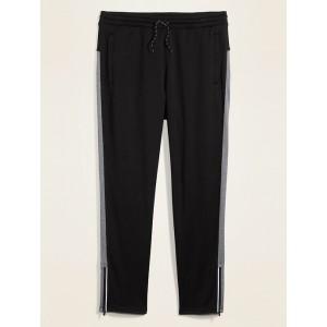 Tapered Go-Dry Side-Stripe Track Pants for Men