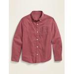 Built-In Flex Long-Sleeve Shirt for Boys