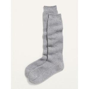 Cozy Textured Boot Socks for Women